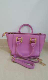 Brand new purple handbag @ S$20