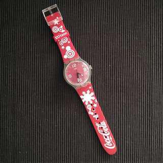 Swatch x Coke Commemorative Watch