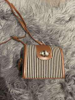 Cute stripy bag