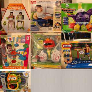 Branded Kids Toys - take all. All brand new in box.