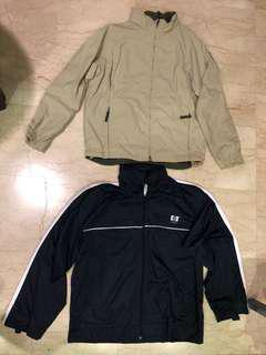 Winter autumn wear : Bomber Jacket/ windbreaker x 2 pieces