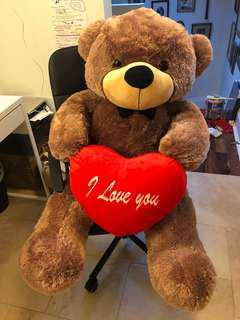 Giant sized teddy bear