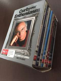 Curb your Enthusiasm DVDs Series 1-8