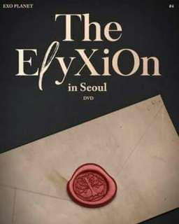 엑소 (EXO) - PLANET #4 THE ELYXION IN SEOUL DVD