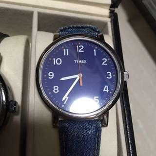 Authentic Timex Watch Blue Color
