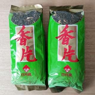日月牌中國名茶香片綠茶茶葉200克2包 Way Choy Chinese tea jasmine and green tea tea leaves 200g 2 packs