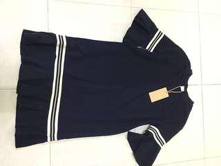 Lalu navy blue dress. (BNWT)