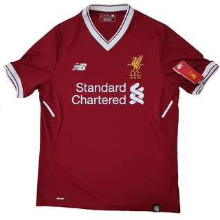 Authentic BNWT Liverpool FC 2017-2018 Home Jersey