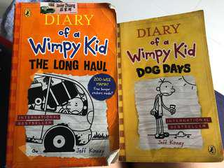 Wimpy kids book to sell
