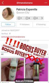 Certified bogus buyer!!!!