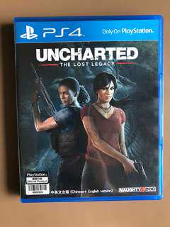 Uncharted The lost Legacy game