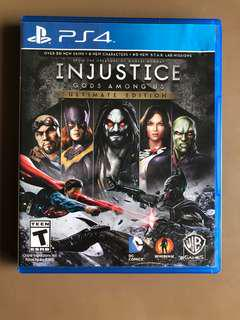 Injustice God's among us Ultimate edition