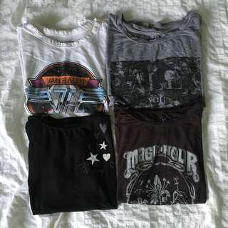 American Eagle Cropped Tops