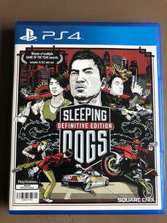 Sleeping Dogs Definitive edition 中文/english