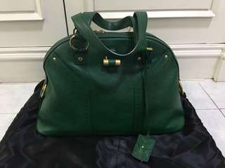 Authentic YSL Muse Green like new condition super sale!!!!!!
