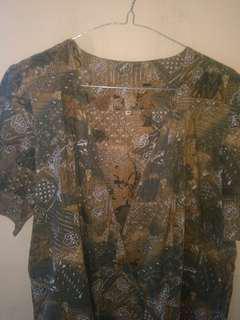 Batik model kimono