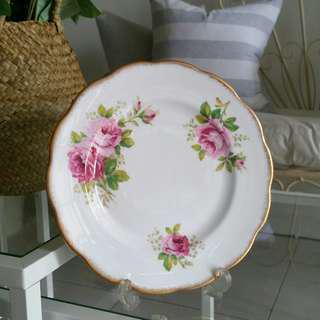 Royal Albert Cake Plate