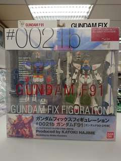 高達模型: Gundam Fix Figuartion Gundam F91 /F90