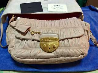 Authentic Prada Gaufre in very good condition