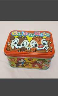 迪士尼 奇奇蒂蒂鐵盒