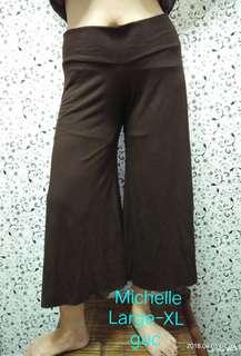 Brown cullotes