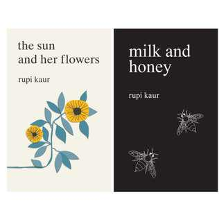 RUPI KUAR EBOOKS - MILK AND HONEY, THE SUN AND HER FLOWERS