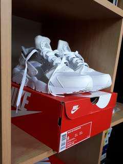 Nike Air Huarache White/Silver US9