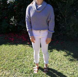Grey American Apparel knit