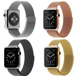 Apple Watch Milanese 42mm Stainless Steel Metal Magnet Strap Band