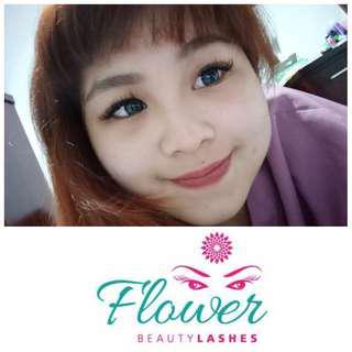 Eyelash flower