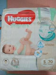 Huggies Platinum Diapers - Size S