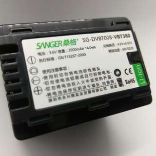 SANGER VW-VBT380 電池 (For Panasonic)