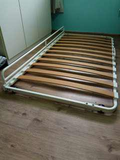 Ikea bed frame - single, roll out