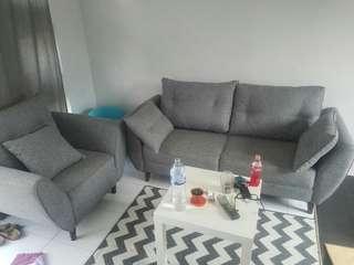 Sofa skandinavian abu ace ikea aeon