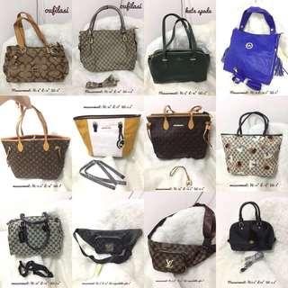For take all 36 pcs hongkong bags ladies bags