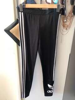 Adidas Unauthentic gym leggings black