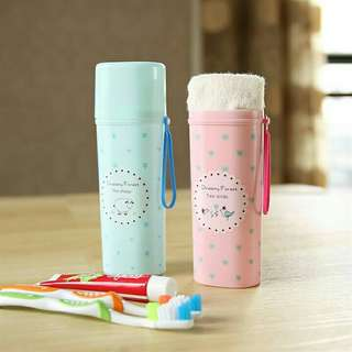 Toothbrush and toothpaste organizer