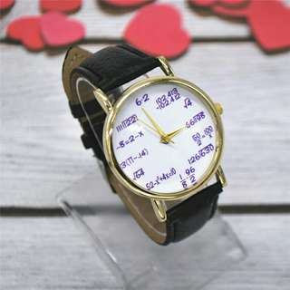 Fashion math watch available other colors