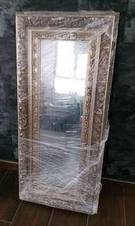 古典雕花鏡