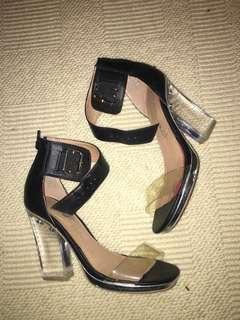 Jeffery Campbell clear heels