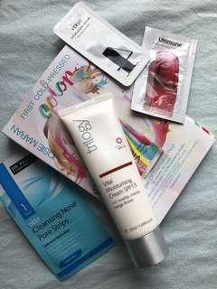 Trilogy vital moisturising cream SPF15 + samples