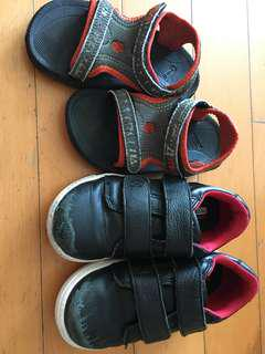 2 對 鞋。teva 涼鞋 25 號 Skechers皮鞋仔26.5 號(鞋底新)