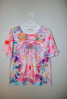 One Direction/Tumblr Tie Dye Shirt