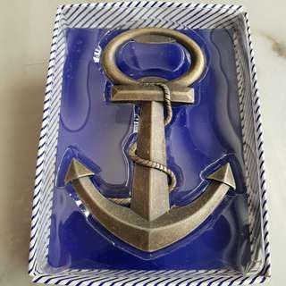 Marine Brass Anchor Bottle Opener