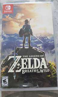 Selling Legend of Zelda Breath Of The Wild