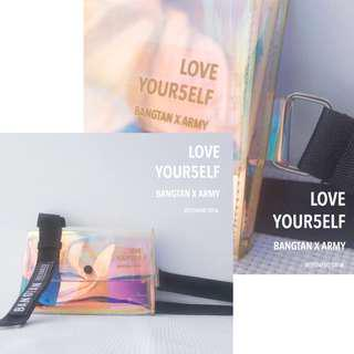 BTS 5th Anniversary Special Holographic Bags