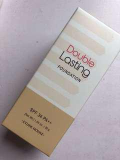 Etude house double lasting foundation in tan