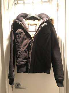 90% New TNA Fur Lined Jacket