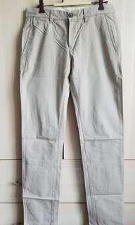 H&M men chino trousers 男裝長褲