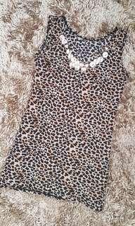 Cheetah sleeveless